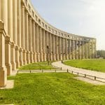 L'architecture moderne d'Antigone à Montpellier