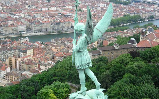 L'archange Saint Michel à Lyon
