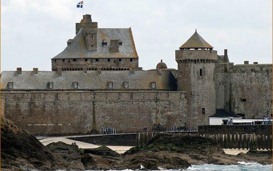 Le château de Saint Malo