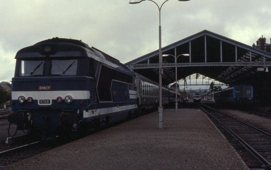 Locomotive BB67000 à Rodez