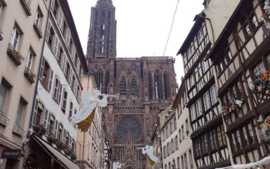 Le marché de noël à Strasbourg