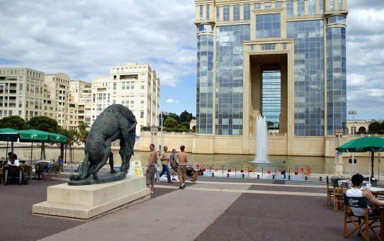 Hôtel de région à Montpellier