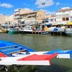 Canal de Palavas Les Flots