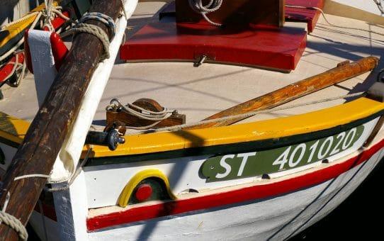 Barque catalane Saint-Pierre à Palavas Les Flots