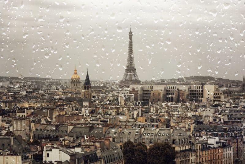 Paris sous la pluie, que faire ?