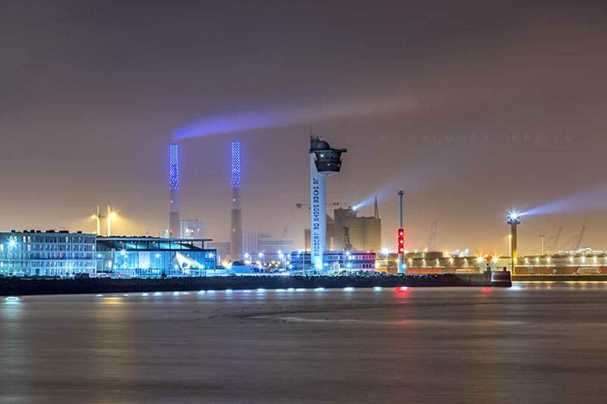 Photo De L Entree Du Port Du Havre En 2017