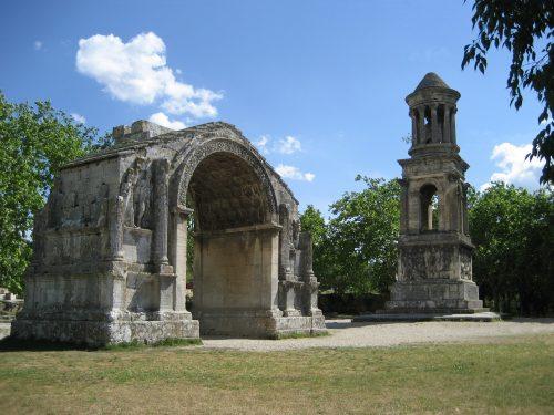 site archeologique st remy de provence